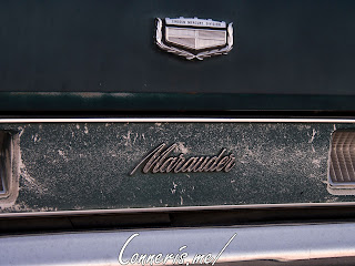 Mercury Marauder Rear Badge
