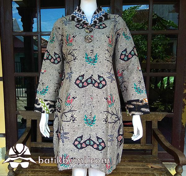 Tunik Batik Lawasan Motif Wahyu Tumurun