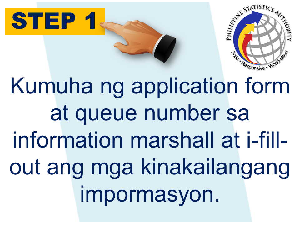 """The days of waiting in long queues and processing is over. The process in getting your Birth Certificate, Marriage Certificate, Death Certificate, and Certificate of No Marriage (CENOMAR) has been made easy. You can even claim your document within hours. This is because of the computerized system that the Philippine Statistics Authority is presently using. You can get you documents by phone, online or going personally to the ir nearest office in your area. For walk-in applicants, all you need to do is to follow these easy steps: Step 1. Application Take an application form and fill-out the required information. Step 2. Screening Proceed to the screeners' desk . This is where they check if the information you provided is readable and correctly done. They will mark it with """"OK"""" if you are ready to proceed to the cashier. Step 3. Payment Proceed to the cashier for the payment of your requested document. They will provide you with an official receipt indicating the release date of your document. At the cashier you need to pay the following amount depending on the documents you requested. Step 4. Releasing If your request is not readily available due to some circumstances, you may need to present a request for processing which includes encoding, printing, sorting and releasing of the documents which may vary depending on the following cases: Converted documents can be released on the same day. Unconverted and annotated documents means they do not have the record yet on their database and you may need to wait for 10 days for your requested document to be released. For the CENOMAR, you may need to wait for 4 working days for your document to be released. There are not much requirements. All you need to do is the accomplished application form. Valid IDs are required for those who are requesting Birth Certificates. For those who are representing other people, you may need to present an authorization letter. For busy people who doesn't have time to visit the PSA Offices perso"""