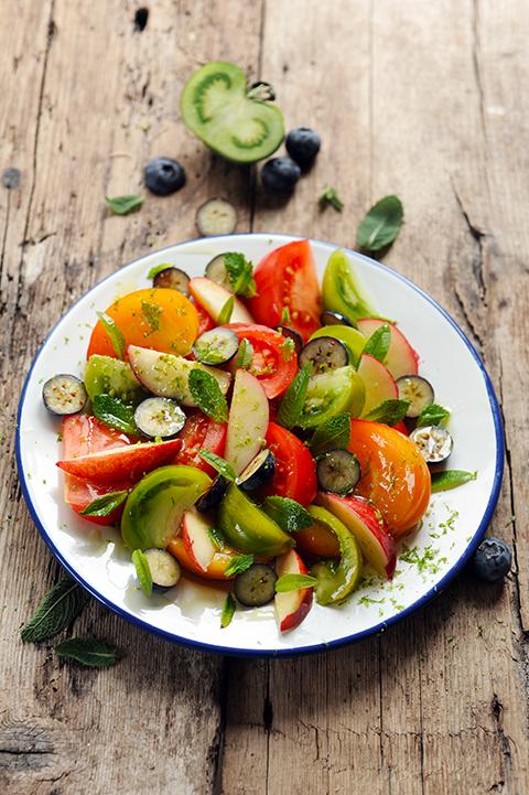 Dorian mais pourquoi est ce que je vous raconte a salade de fruits jolie jolie - Tomate est un fruit ...