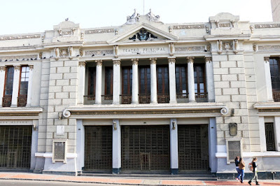 Manuel Segura Theatre, Theaters of Lima, History of Theaters in Peru