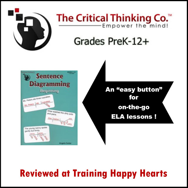 Training happy hearts who knew sentence diagramming could be so easy in the past so i was happy to have an opportunity to review their sentence diagramming beginning geared for children in grades 3 12 ccuart Gallery