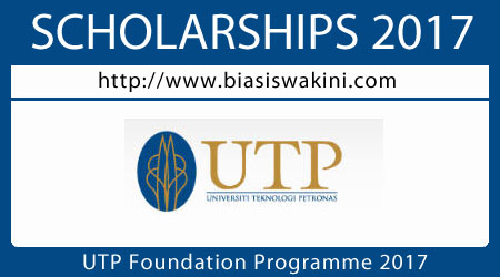 UTP Foundation Programme 2017