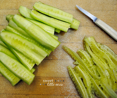 Easy and Delicious Appetizer: Dill Cucumber Dip Recipe - www.sweetlittleonesblog.com