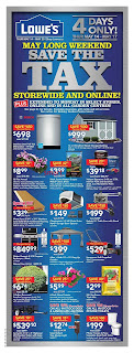 Lowe's Flyer May 14 to 20, 2017