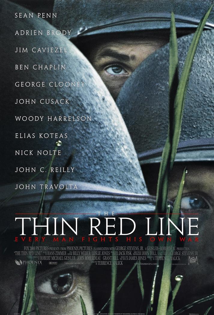 Póster: La delgada línea roja