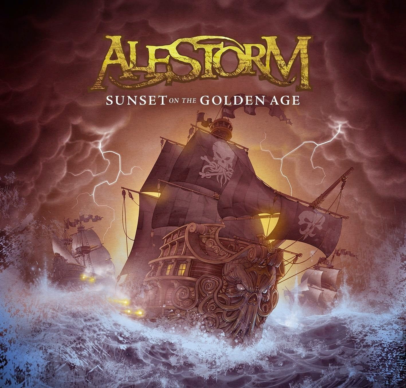 Alestorm - Sunset on the Golden Age [Limited Edition] (2014)