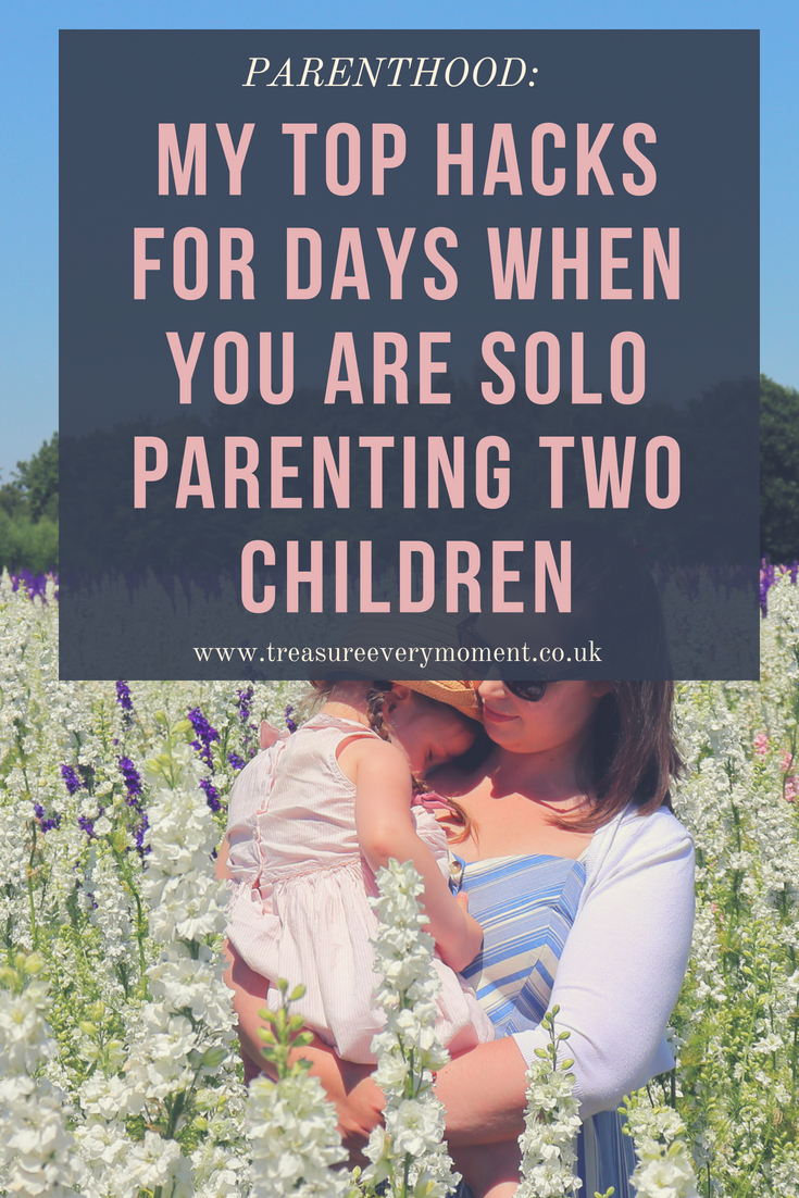 PARENTHOOD: My Top Hacks for Days when you are Solo Parenting Two Children