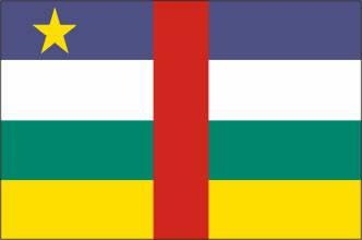 Bandeira da República Centro Africana