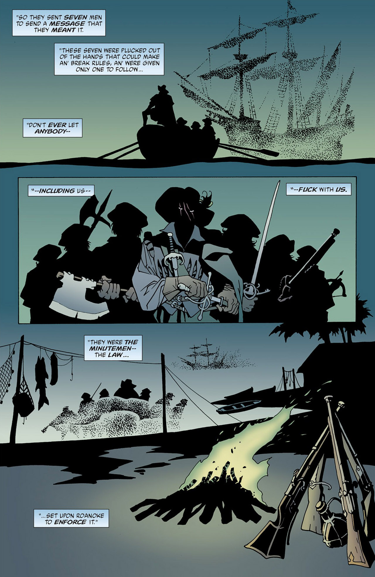 Read online 100 Bullets comic -  Issue #50 - 21