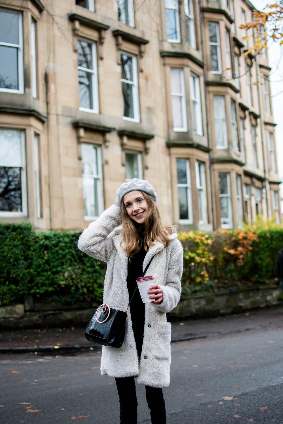 gratitude-journal-fashion-blogger-teddy-coat-outfit