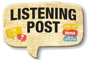 Listening Post graphic from https://yoursay.glenelg.vic.gov.au/listening-post