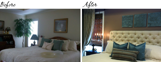 master bedroom before and after drab to fab recreating a bedroom 19104