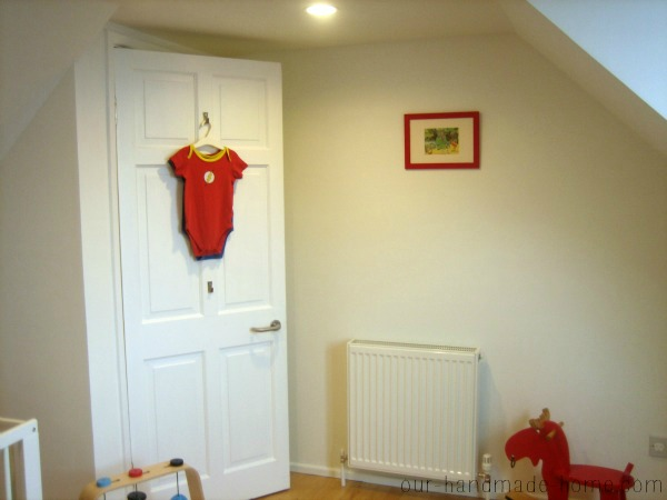 baby boy red room- our-handmade-home.com