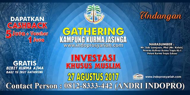 GATHERING-KAMPUNG-KURMA-ISLAMI-JASINGA-KAVLING-SYARIAH