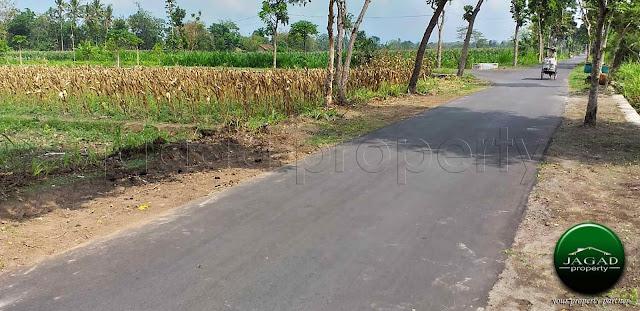Tanah Luas dekat SGM jalan Solo Km 19