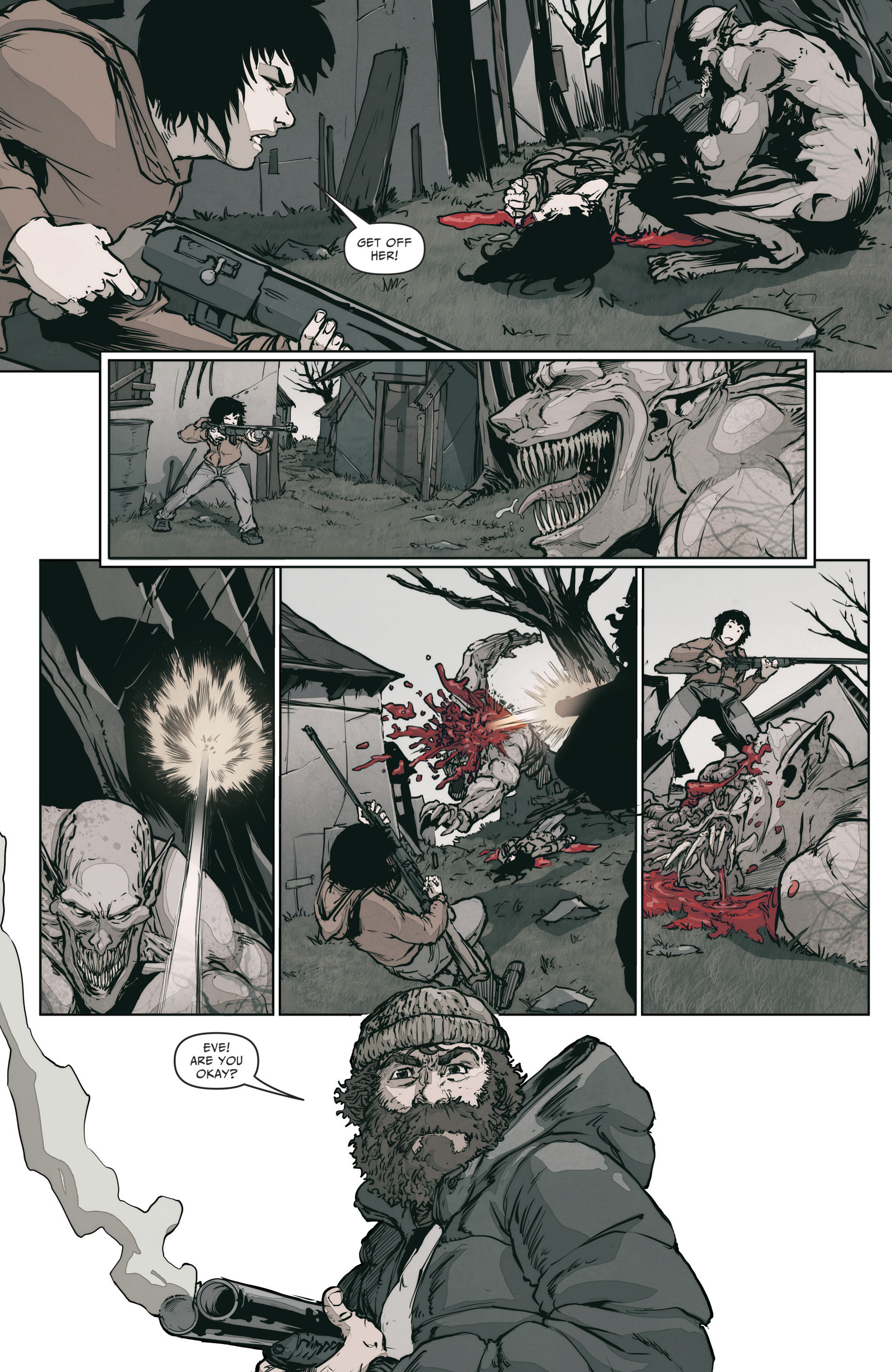 Read online The Courier: From the Ashes comic -  Issue #3 - 5