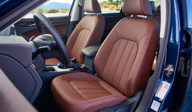front-seats-and-steering-wheel-of-vw-passat