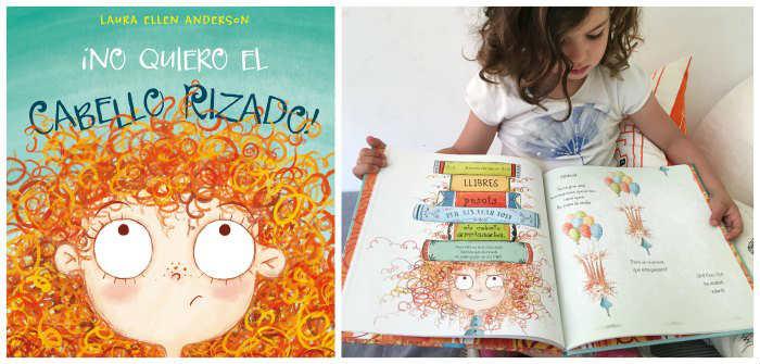 cuentos libros infantiles potenciar, fomentar sana alta autoestima no quiero el cabello rizado picarona