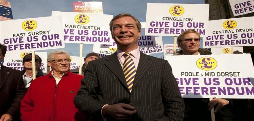 Χαμός στην Βρετανία από την τρομακτική άνοδο του UKIP