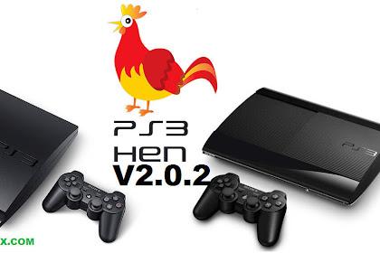 PS3 4.84 HEN V2.0.2 Update Versi Terbaru