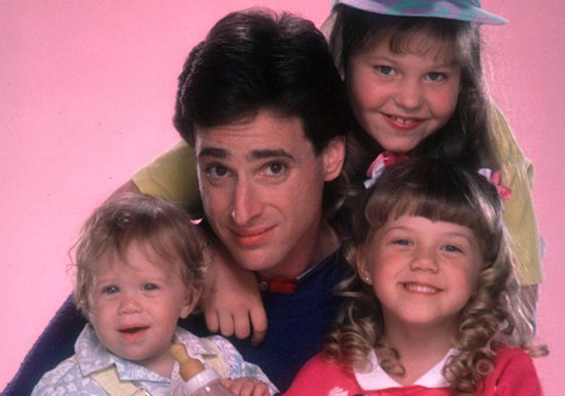 Danny, D.J., Stephanie y Michelle Tanner, de Padres Forzosos