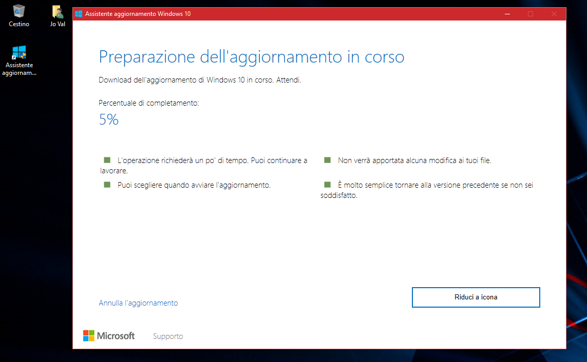 Aggiornare subito all'Anniversary Update di Windows 10 HTNovo