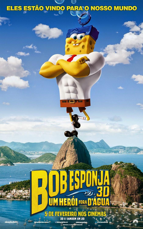 The Spongebob Movie: Sponge Out of Water - DC FilmdomDC ... |Spongebob Movie Poster