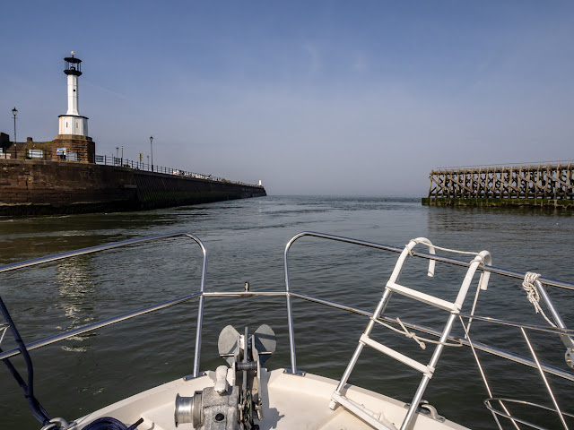 Photo of Ravensdale in Maryport Basin heading out towards the Solway Firth