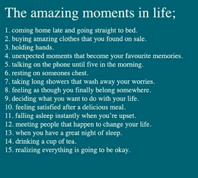 positive thinking quotes quotations: the amazing moments in life;