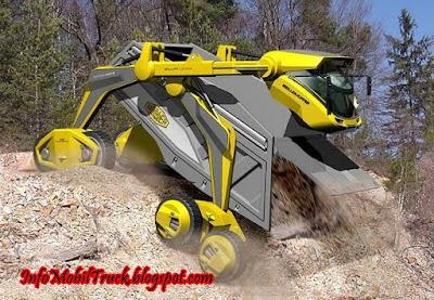 Inovasi modifikasi dam truk modern