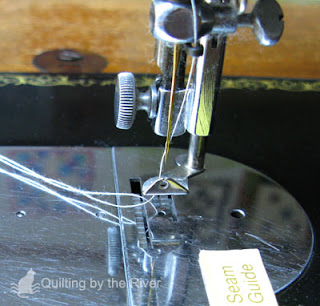 darning foot on a 15-91 Singer