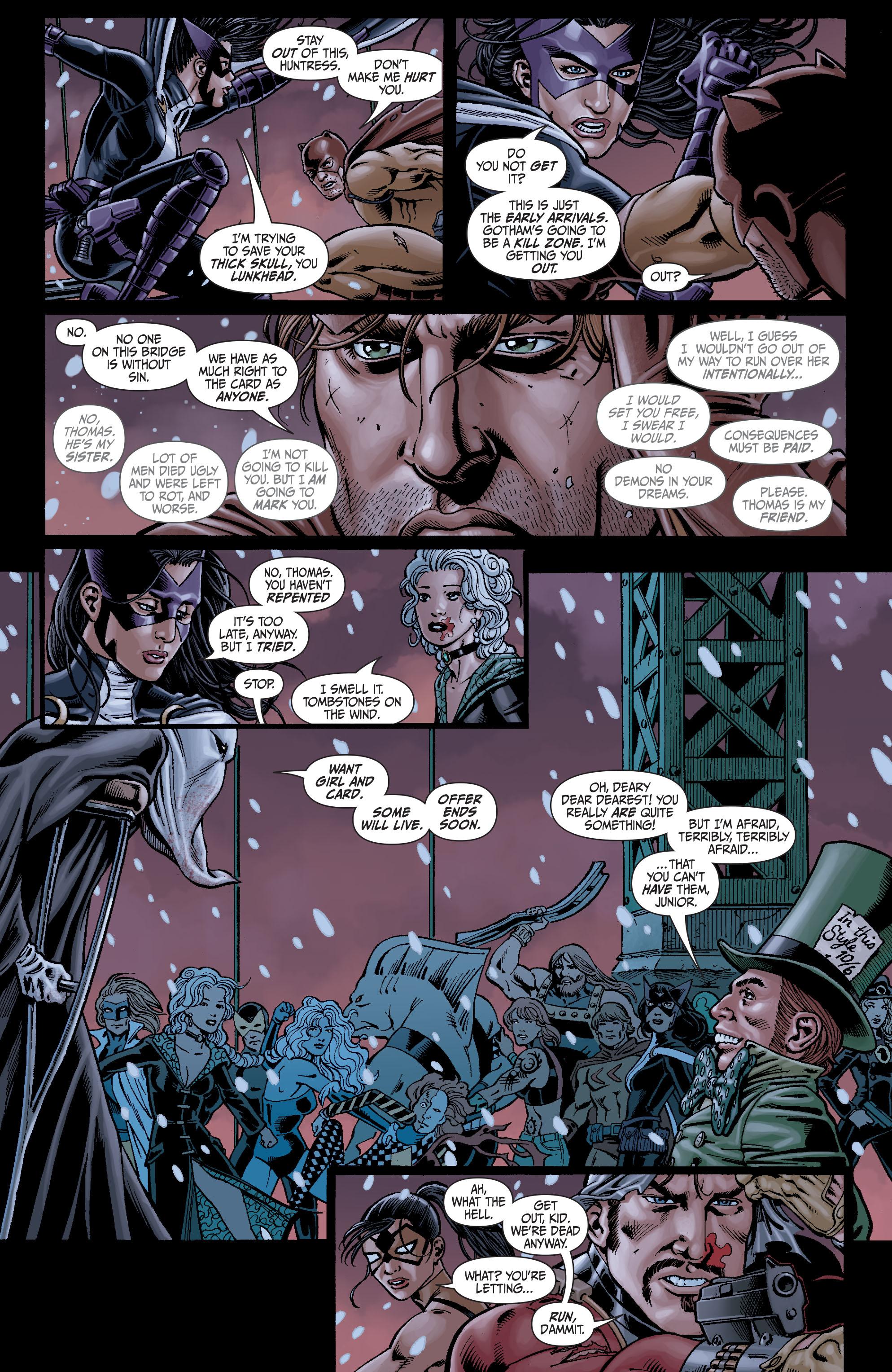Read online Secret Six (2008) comic -  Issue #7 - 17