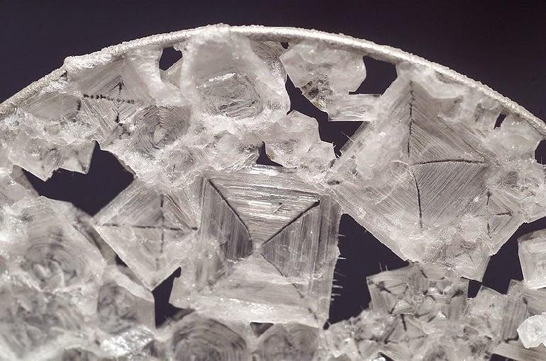 Lateral Science NASA Microgravity Hopper Crystals