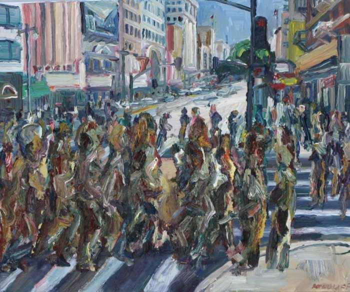 Американский художник. John Kilduff