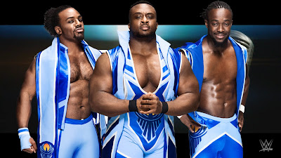 ROCKS BIG E KOFI TAG OPEN CHALLENGE TEAM
