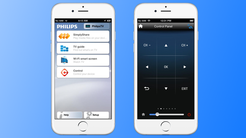 Philips TV Remote App for iPhone
