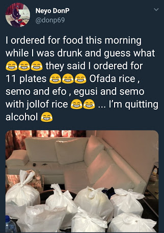 Drunk Man Ordered For 11 Plates Of Food Mistakenly