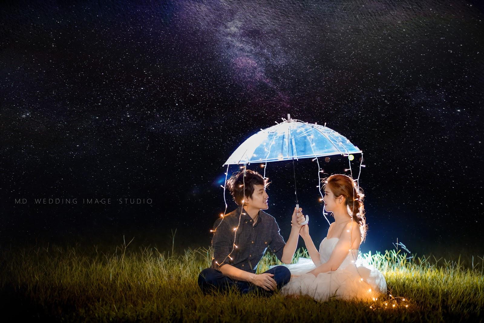 星空婚紗.銀河婚紗