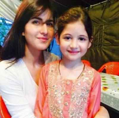 Katrina Kaif Shares Instagram Photo with Harshaali Malhotra