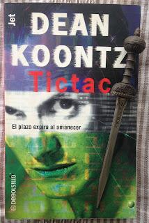 Portada del libro Tictac, de Dean R. Koontz