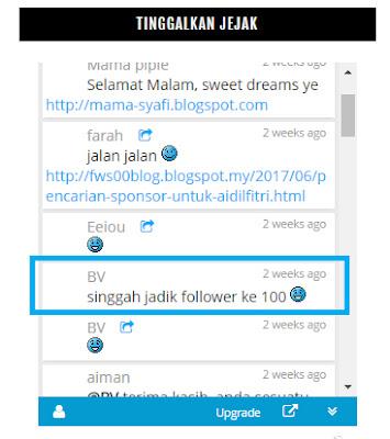 followers ke 100