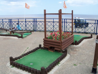 Crazy Golf on Mablethorpe Sea Front