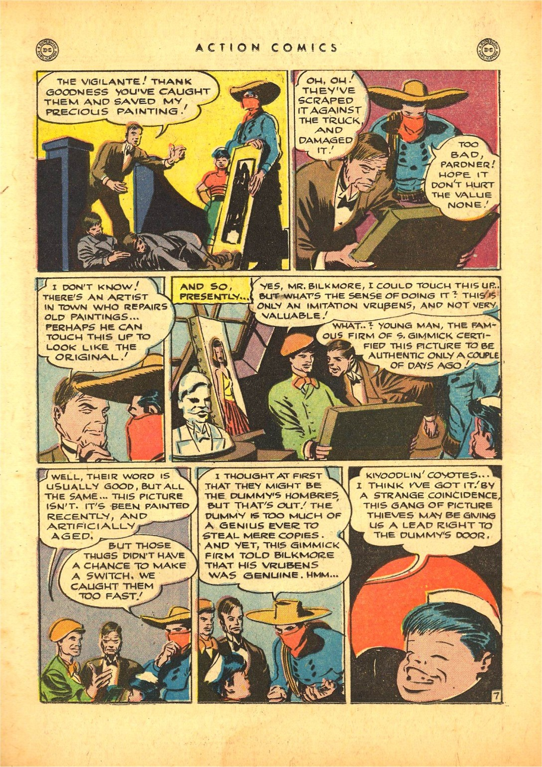 Read online Action Comics (1938) comic -  Issue #87 - 28