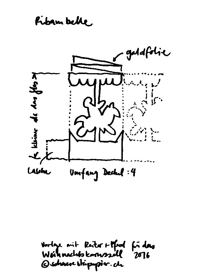 schaeresteipapier: Adventskalender Türchen Nr. 1 - Karussell