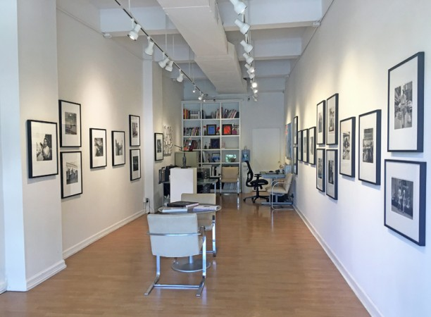 Exhibition installation - Vivian Maier Revealed - Madelyn Jordon Fine Art gallery