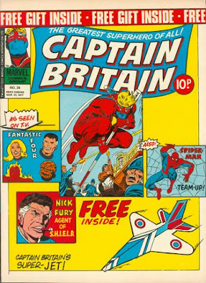 Marvel UK, Captain Britain #24