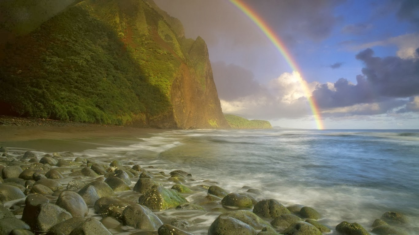 Free Cute Fall Wallpapers Natural Rainbow 4u Hd Wallpaper All 4u Wallpaper