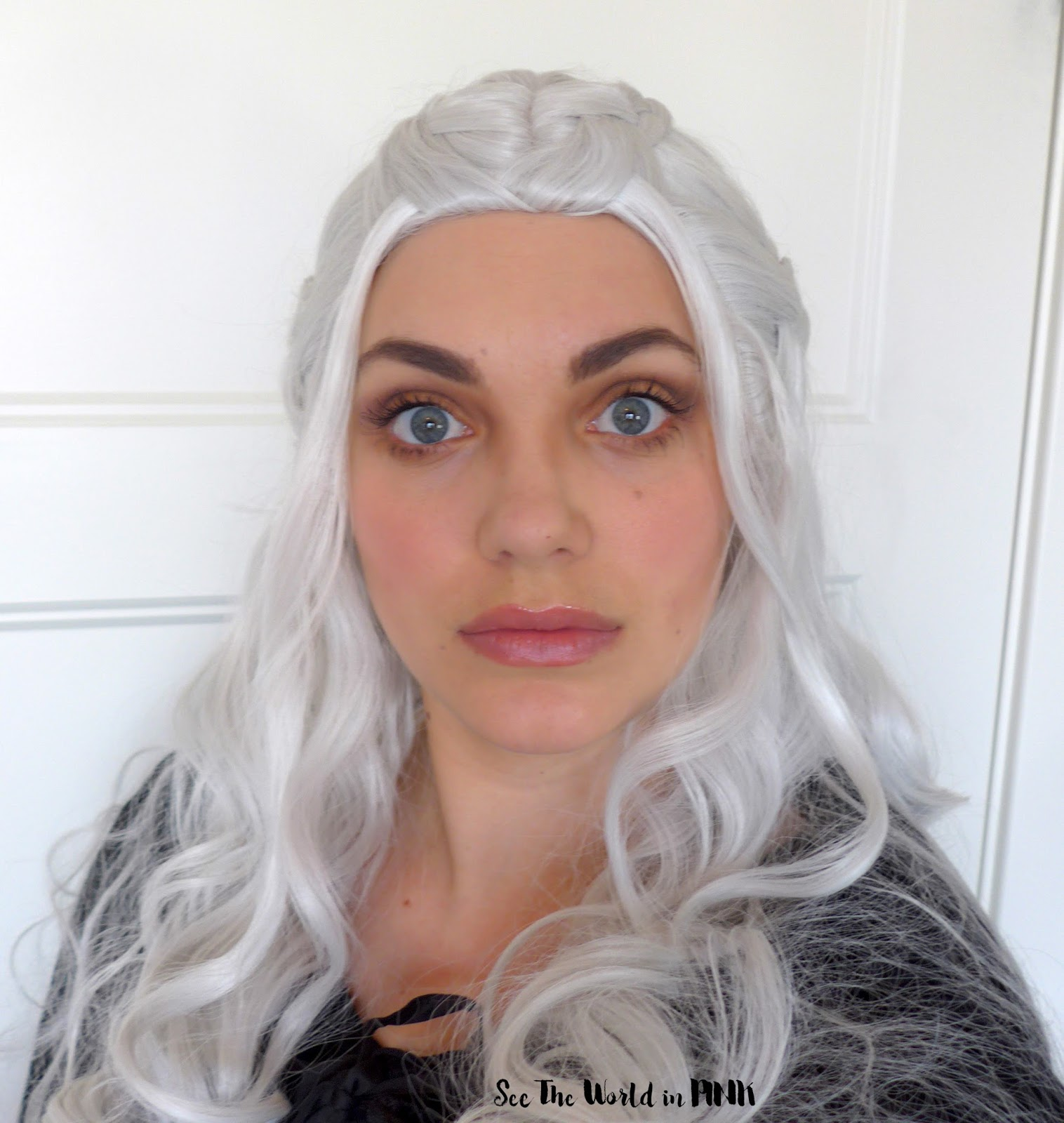Halloween Makeup - Danaerys Targaryen Mother of Dragons!