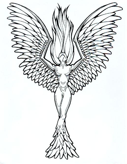 tattoo designs phoenix 04 the collectioner. Black Bedroom Furniture Sets. Home Design Ideas